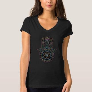 dot Hamsa Hand Mandala T T-Shirt