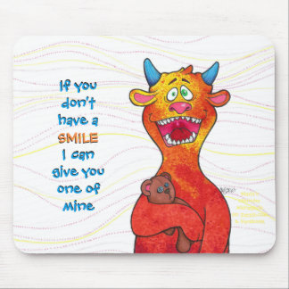 Dot, mouse pad w/message