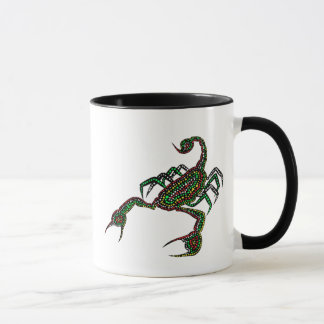 Dot painted Scorpion Mug
