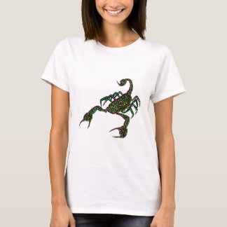 Dot painted Scorpion Womens T-shirt