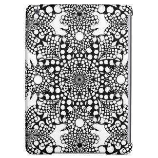 Dot PAttern Mandala iPad Air Cases