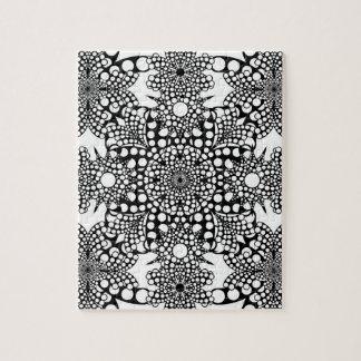 Dot Pattern Mandala Jigsaw Puzzle
