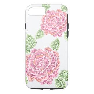 dot roses Tough iPhone 7 case
