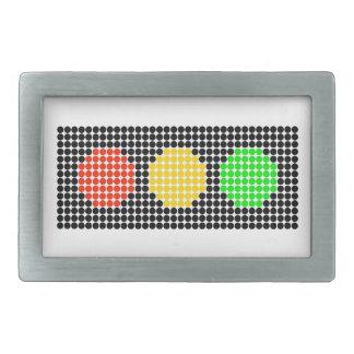 Dot Stoplight Belt Buckles