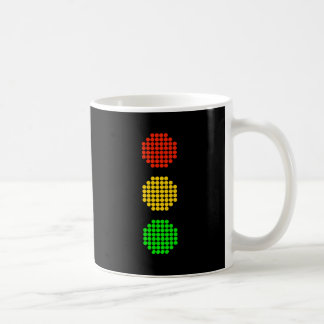 Dot Stoplight Colors Coffee Mug