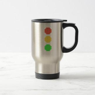 Dot Stoplight Colors Travel Mug
