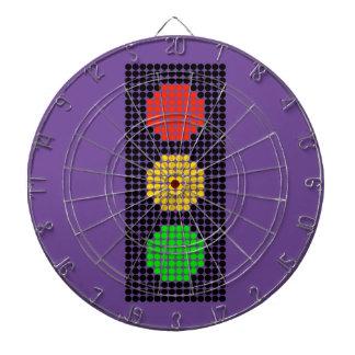 Dot Stoplight Dartboard