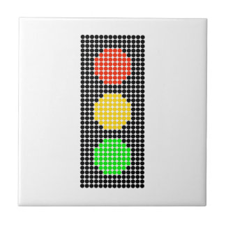 Dot Stoplight Tiles