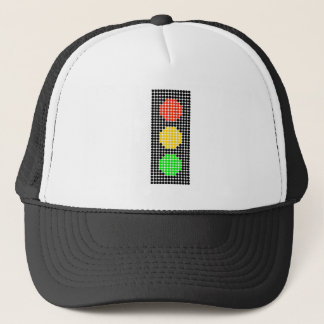 Dot Stoplight Trucker Hat