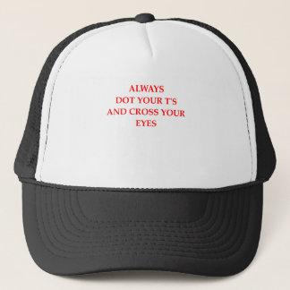 DOT TRUCKER HAT