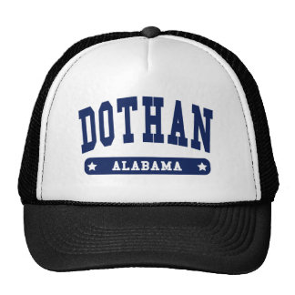 Dothan Alabama College Style tee shirts Trucker Hat