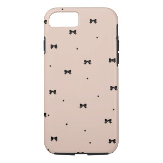 Dots and Bows iPhone 7 case