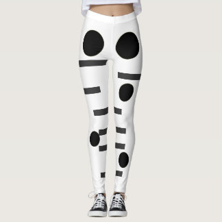 dots and dashes leggings