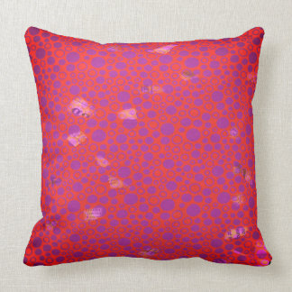 Dots and Pocket Fuzz Abstract Pillow