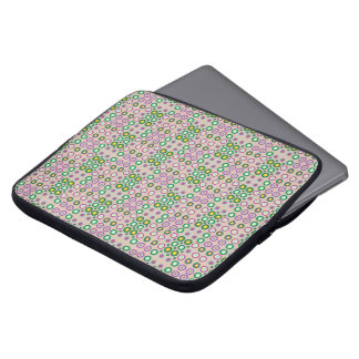 dots and spots laptop sleeve