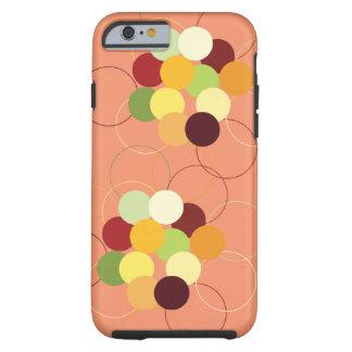 Dots & Circles iPhone Tough Case