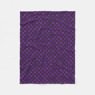 dots cross line curve design abstract shapes color fleece blanket
