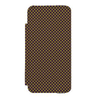 dots cross line curve design abstract shapes color incipio watson™ iPhone 5 wallet case