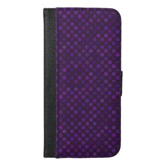 dots cross line curve design abstract shapes color iPhone 6/6s plus wallet case