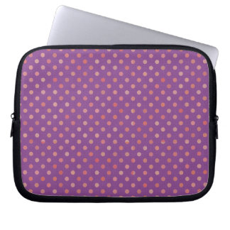 dots cross line curve design abstract shapes color laptop sleeve