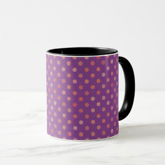 dots cross line curve design abstract shapes color mug