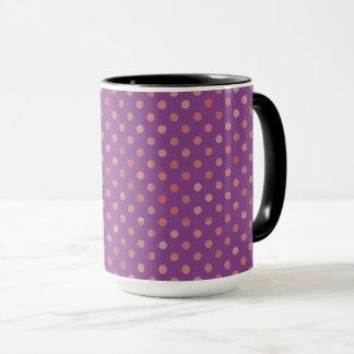 dots cross line curve design abstract shapes color mug