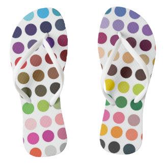Dots Flip Flops