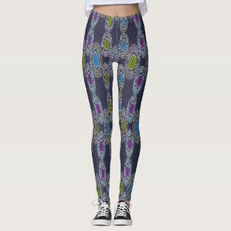 Dots in Bold Colors Leggings