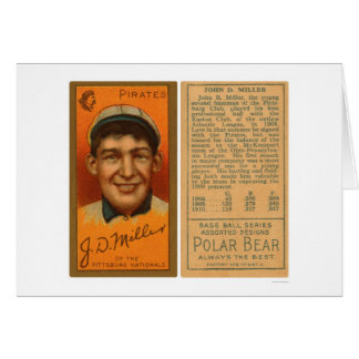 Dots Miller Pirates Baseball 1911 Card