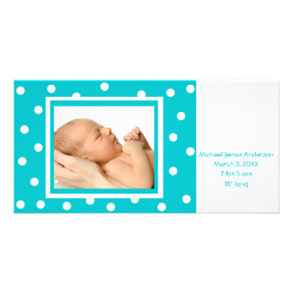Dots n Dots (teal) Card