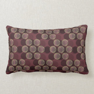 "Dots No Com - Merlot (21""x13"" Pillow) Lumbar Pillow"