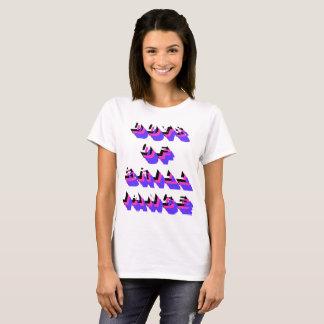 dots of brilliance psy unicorn vision T-Shirt