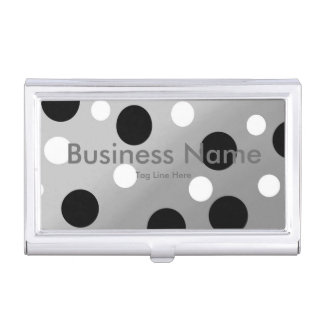 Dots On Blending Business Card Holder