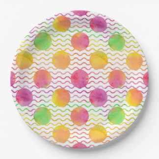 Dots Paper Plate