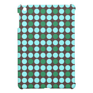 dots pattern background abstract texture circle ro iPad mini cover