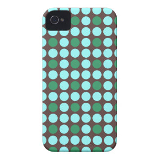 dots pattern background abstract texture circle ro iPhone 4 Case-Mate cases