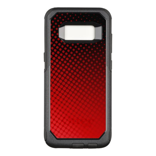 Dots Pattern OtterBox Commuter Samsung Galaxy S8 Case