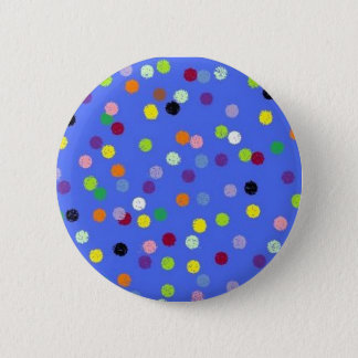 dots,polka 2 inch round button