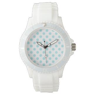 DOTS: Women's Sporty White Silicon Watch
