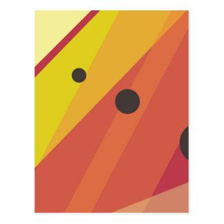 Dots'n'stripes Postcard