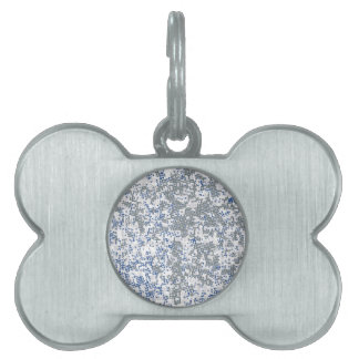 Dotted Background Pet Name Tag