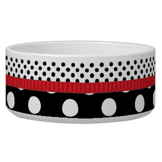 Dotted Bliss Pet Food Bowl