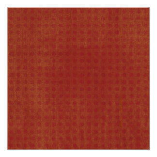 Dotted Burned Orange Background Perfect Poster