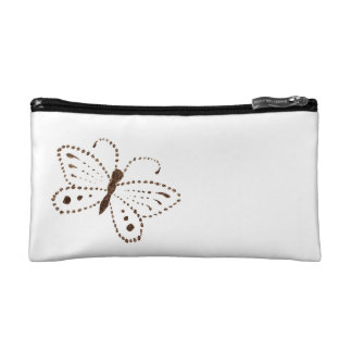 Dotted Butterfly Cosmetic Bag