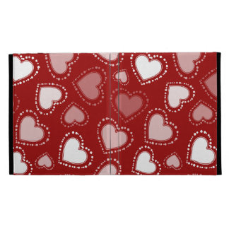 Dotted Hearts iPad Folio Cases