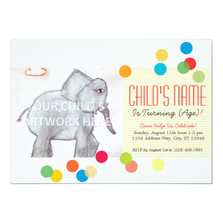 Dotted Party Invites