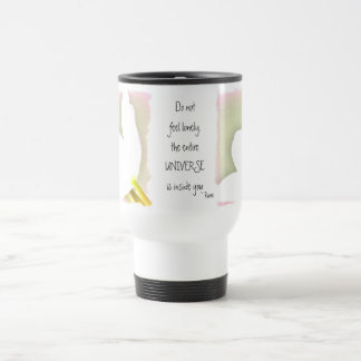 Dotted Tulip Rumi Quote Travel Mug