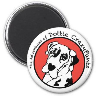 Dottie CrazyPants Magnet