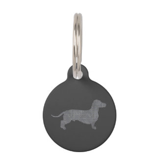Dotty Dachshund Pet Tag