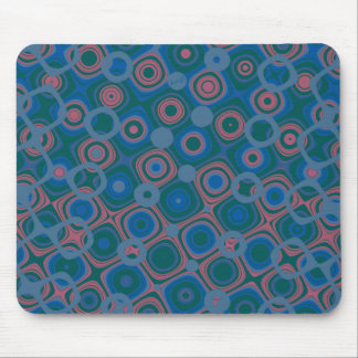 Dotty 'Dark Blue 2' Mouse Pad